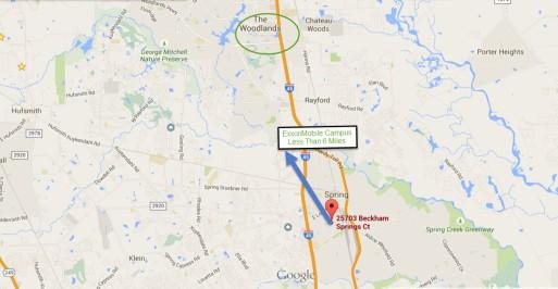 25703 Beckham Springs Ct Spring Texas Map